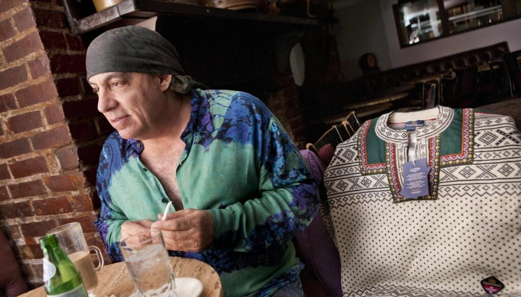 ÅPEN: I intervjuet med Se og Hør snakker Steven åpent om sitt forhold til Norge, om ekteskapet med kona Maureen og om vennskapet med legenden Bruce Springsteen. Foto: Thomas Engstrøm