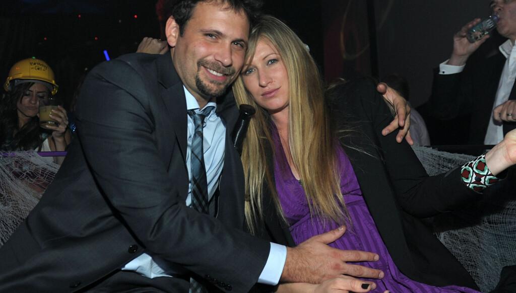 FORELDRE: Jeremy Sisto og kona Addie Lane har blitt tobarnsforeldre. Foto: All Over Press