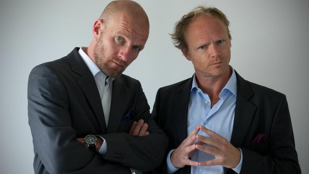 KUNNE TJENT MER: Bård Tufte Johansen og Harald Eia kunne tjent mer penger på «Brille» dersom programmet ikke gikk på NRK.  Foto: Stella Pictures