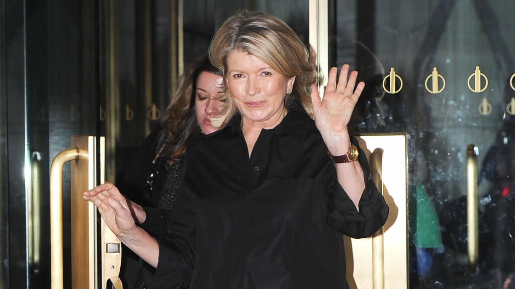 BLE BESTEMOR: Torsdag ble Martha Stewart bestemor for andre gang da datteren Alexis fødte en sønn.  Foto: All Over Press
