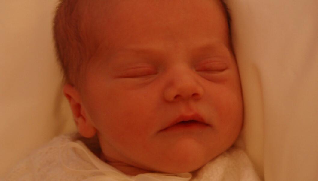 BARNEPIKE ANSATT: Allerede har prinsesse Estelle fått en ny barnepike.  Foto: Kungahuset.se