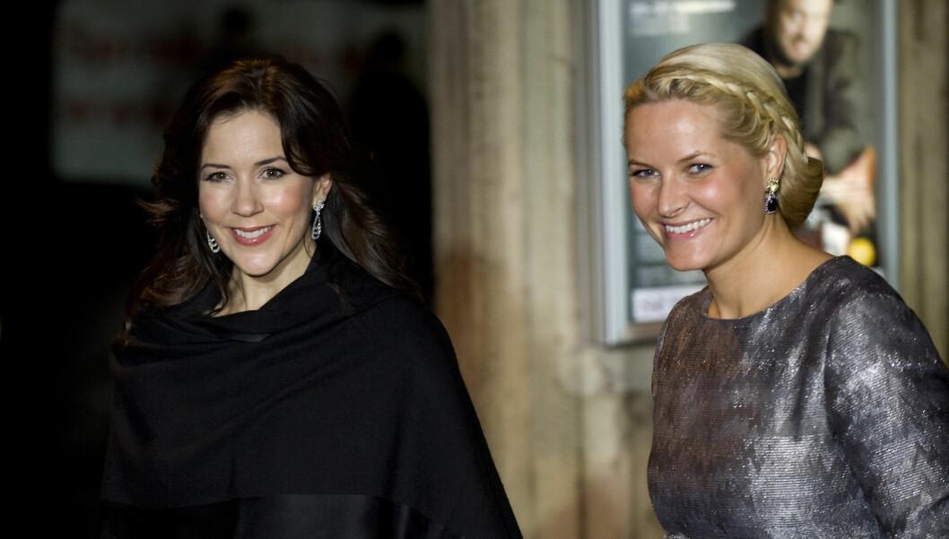 I SAMME KLUBB: Kronprinsesse Mette-Marits gode venninne kronprinsesse Mary har nå blitt  utnevnt til «Young Global Leader».  Foto: Scanpix