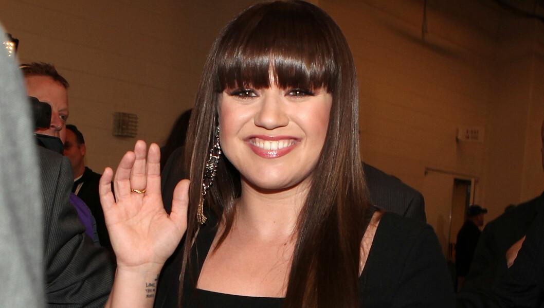 HEMMELIG KJÆRESTE: Nå avslører Clarkson at hun har hatt kjæreste en stund. Foto: All Over Press
