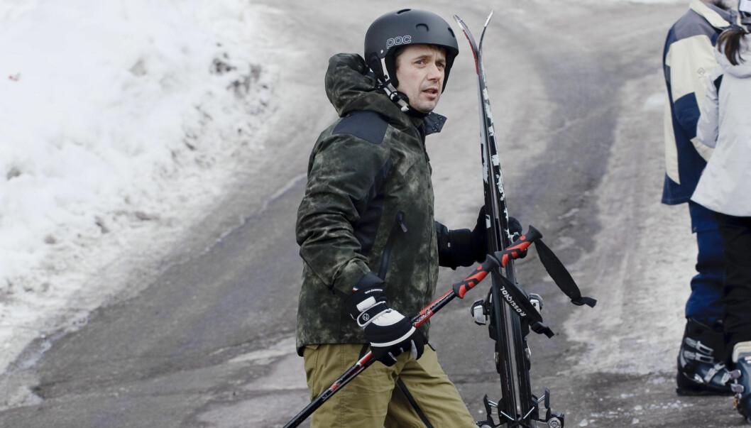 DELTAGER 2: Danske kronprins Frederik skal også være med på å gå Vasaloppet på søndag. Foto: Stella Pictures