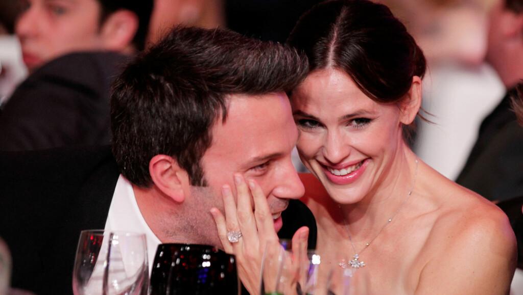 FORELDRE FOR TREDJE GANG: Ben Affleck og Jennifer Garner er lykkeligere enn noensinne etter at de denne uken ble foreldre for tredje gang. Foto: All Over Press