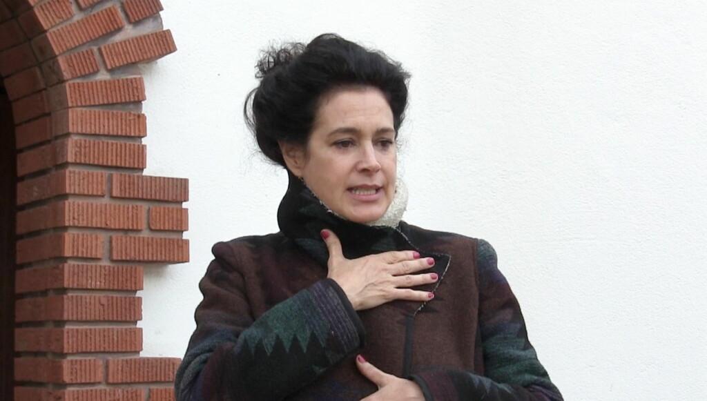 ARRESTERT: Her forlater skuespilleren fengselet etter arresten. Foto: All Over Press