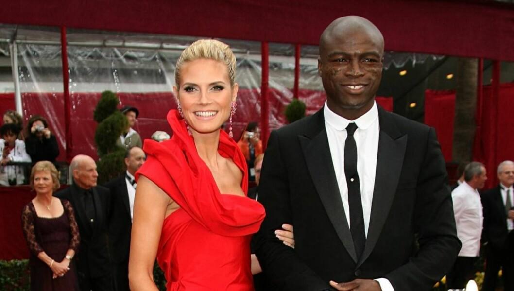 SYV ÅR: Ekteskapet mellom Heidi Klum og Seal varte i syv år. Flere ganger fornyet de ekteskapsløftene, og ga folk et inntrykk av det perfekte forhold. Foto: All Over Press