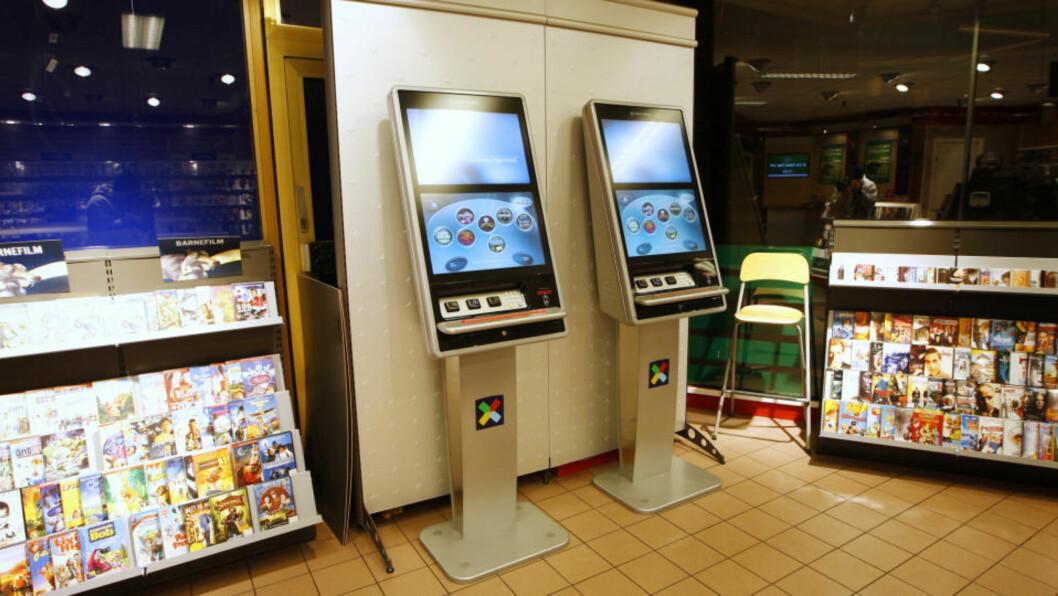 <strong>NYE AUTOMATER:</strong> Norsk Tippings nye spilleautomat fotografert på 7-Eleven på Hamar. Foto: Erlend Aas / SCANPIX