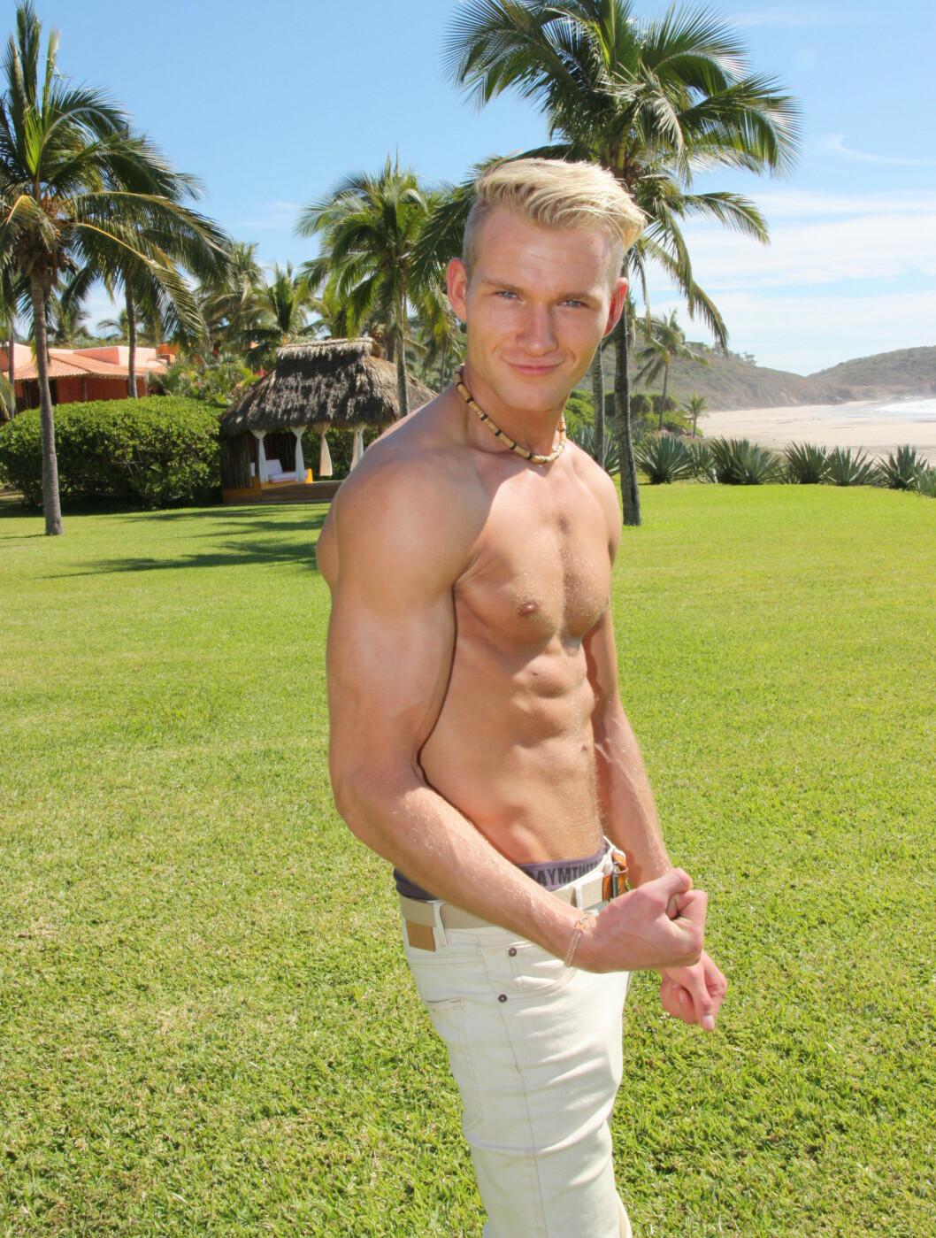KLAR FOR PARADISE HOTEL: Are B. Schanke (20). Fra Trondheim. Jobber som modell og salgskonsulent. Foto: Sølve Hindhamar, Seher.no