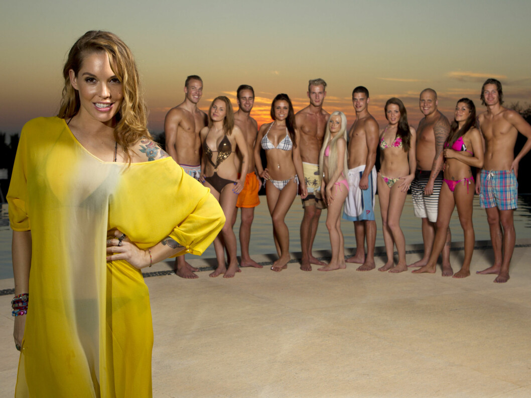 GJØR COMEBACK: Triana Iglesias er også i år programleder for «Paradise Hotel» Foto: TV3