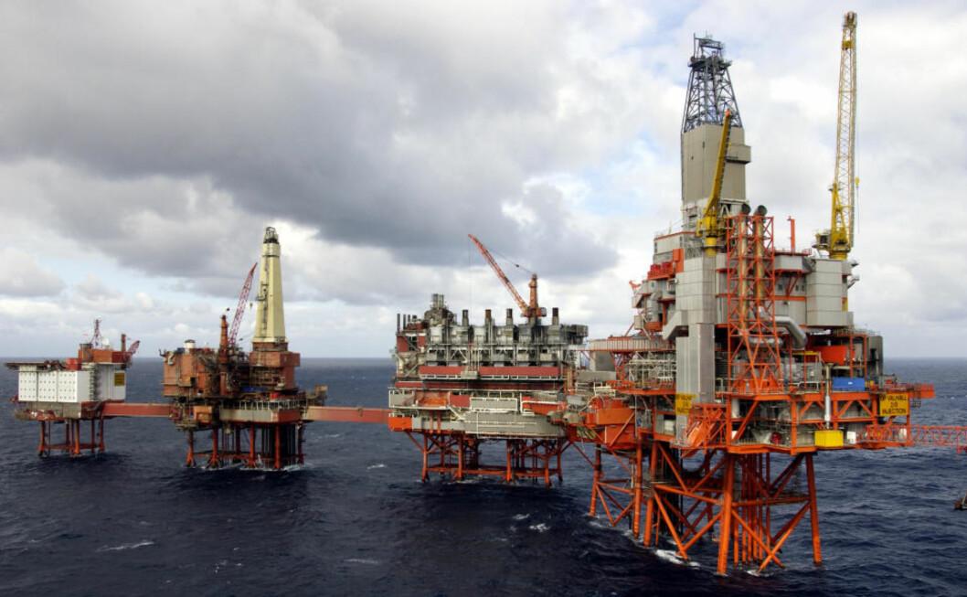 <strong>NORDSJØENS SKRAPHAUG:</strong> BPs største felt i Nordsjøen, Valhall, sliter med en rekke problemer. Det er minimalt med vedlikehold, og feltet blir kalt Nordsjøens skraphaug. Foto: BP