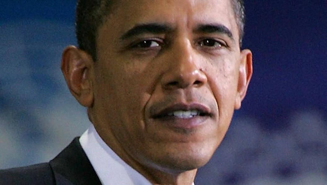 UØNSKET: President Barack Obama har gitt David Cross og forloveden beskjed om at de ikke er velkommen tilbake til det hvite hus etter narkotikaepisoden. Foto: All Over