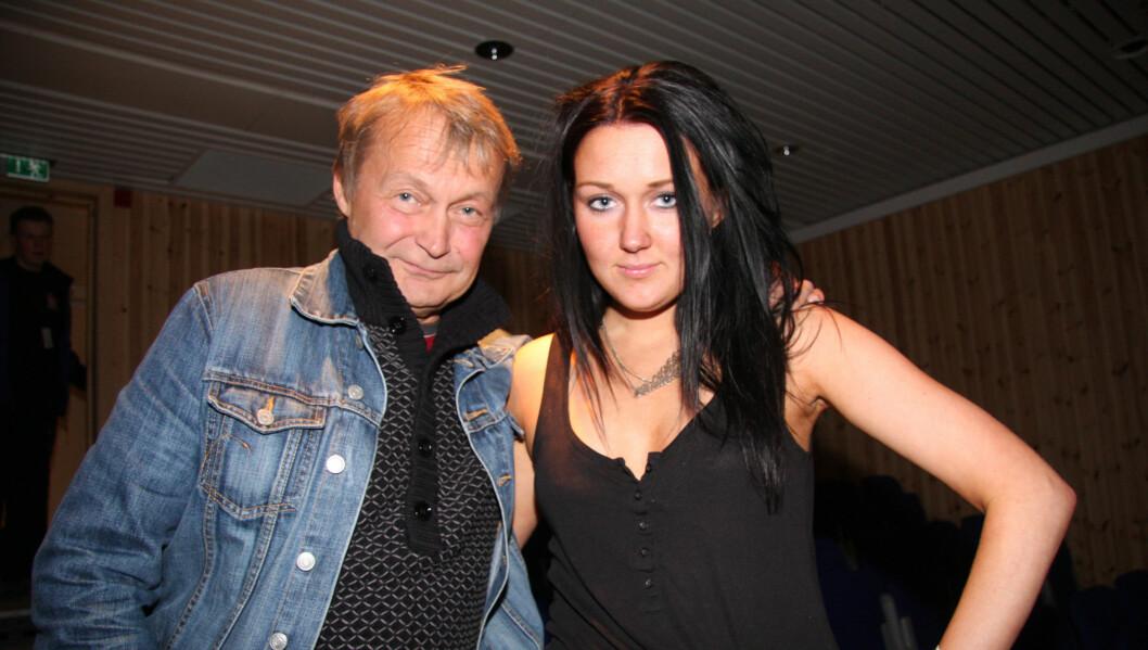 NY KJÆRESTE: Nils Gaup skal ha funnet lykken med Linn Kristin Henriksen. Foto: Kitta Eilertsen/Altaposten