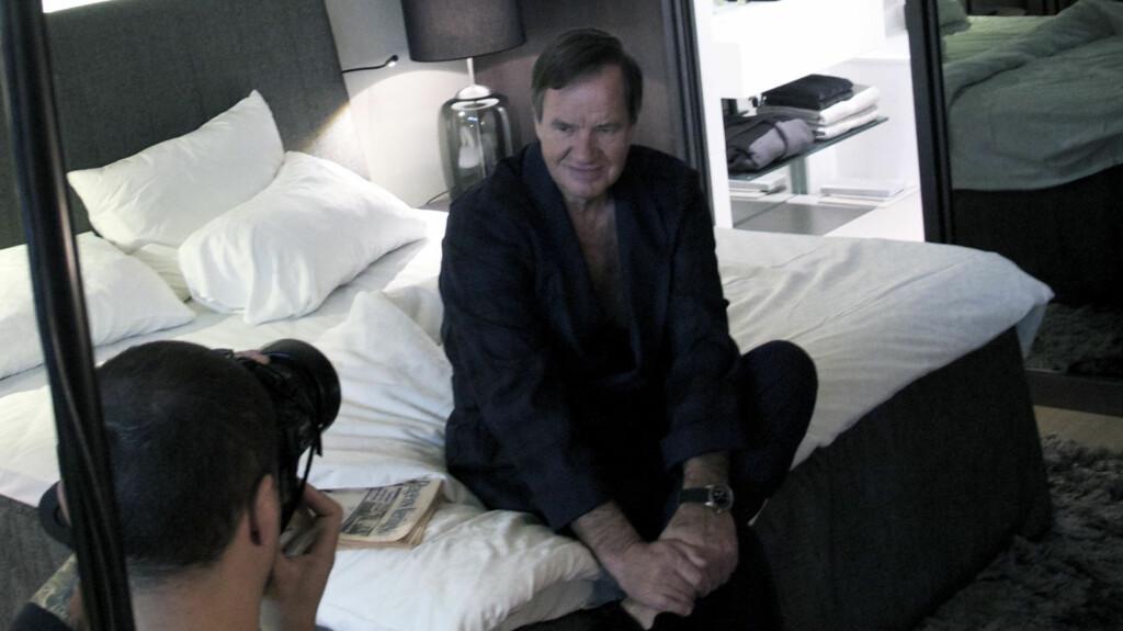 STILLER OPP FOR EN GOD SAK: Bjørn Kjos er en av kjendisene som stiller opp for veldedighetsboken «Rom 13», som gis ut til inntekt for organisasjonen «Nettverk etter soning». Foto: Frederic Esnault