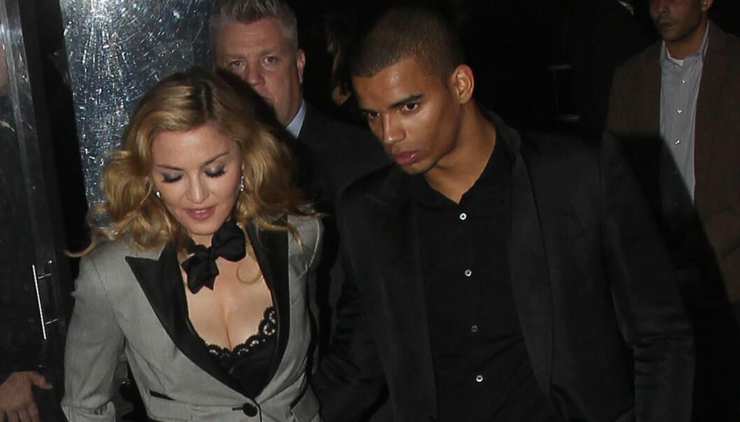 GIFTER SEG?: Brahim Zaibat skal ha fridd til Madonna, men ikke fått noe svar ennå. Foto: All Over Press