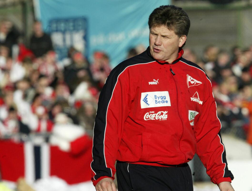 <strong>FREDRIKSTAD-TRENER:</strong> Knut Torbjørn Eggen hadde stor suksess med Fredrikstad.  Foto: SCANPIX