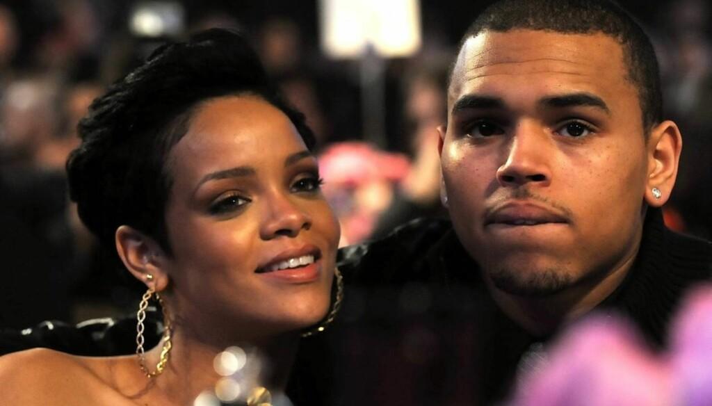 TILGITT: Rihanna ser ut til å ha tilgitt eks-kjæresten Chris Brown som slo henne i 2009. Nå gir de ut en ny sang sammen.  Foto: All Over Press