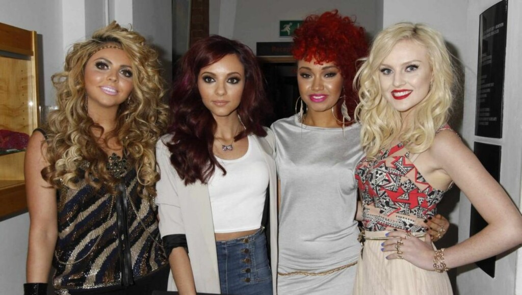 POPSUKSESS:  Jesy Nelson har sammen med venninnene Jade Thirlwall, Leigh-Anne Pinnock og Perrie Edwards gjort suksess med bandet Little Mix. Foto: All Over Press