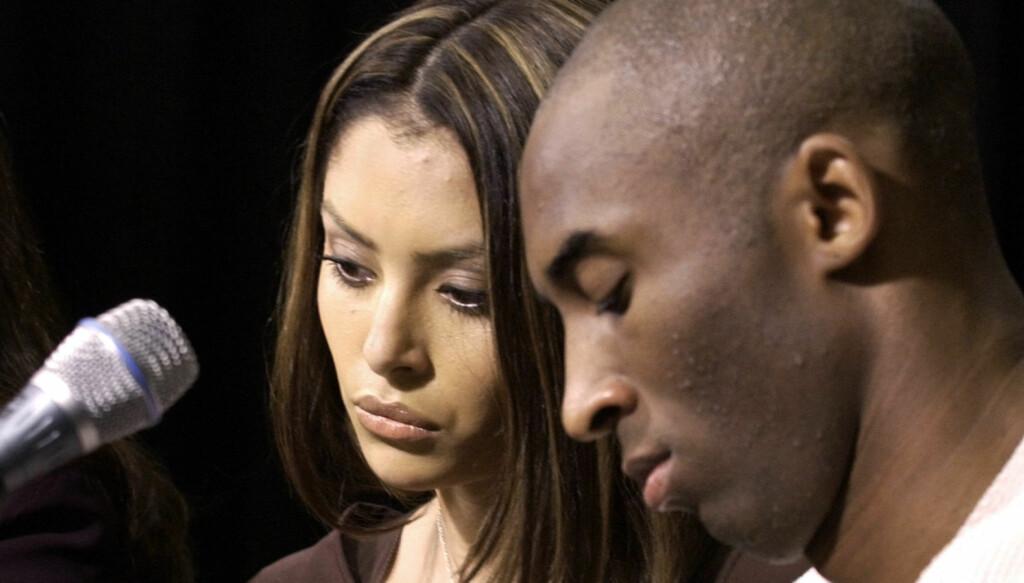 TILGIS IGJEN: Kobe Bryant ble tilgitt av kona etter at en hotellansatt påstod at han hadde voldtatt henne. Kobe på sin side hevdet de hadde et forhold.  Foto: Reuters