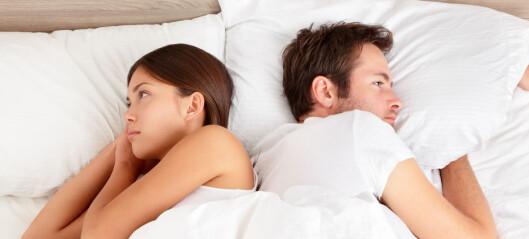 - Hva er de vanligste feilene kvinner gjør i senga?