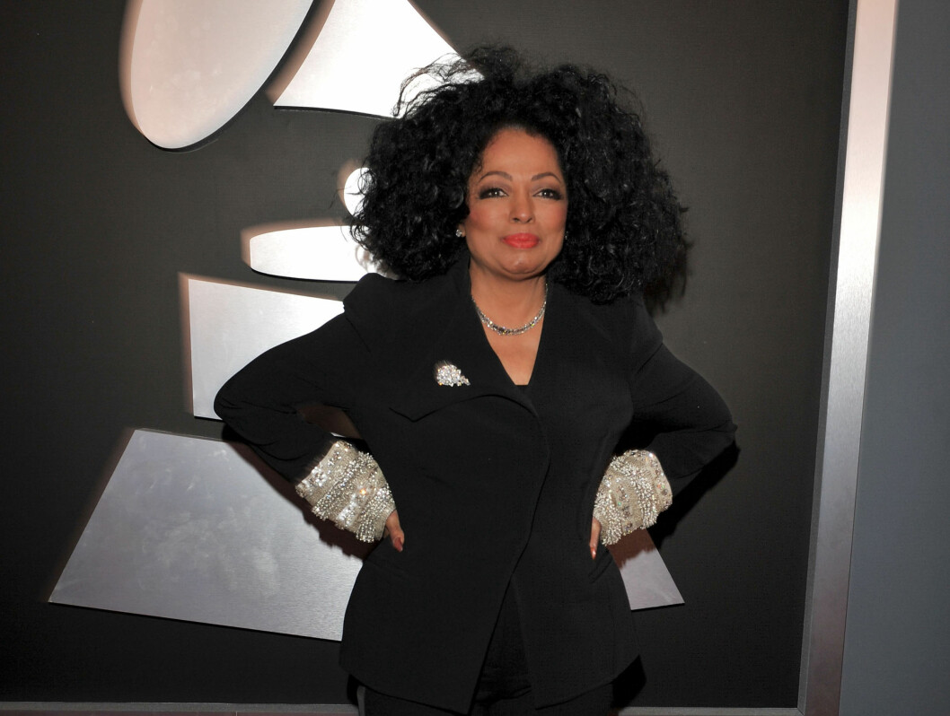 LEGENDE: Diana Ross kastet glans over Grammy-showet. Foto: All Over Press