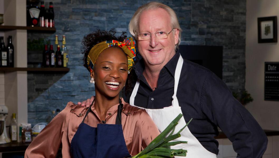 VILLE IKKE STOPPE PROGRAMMET: Stella Mwangi fikk ifølge TV3 tilbud om at episoden med hennes besøk i «Hellstrøm inviterer» skulle bli byttet ut med et annet program, men selv ønsker hun at programmet skal gå som planlagt kommende tirsdag. Foto: TV3
