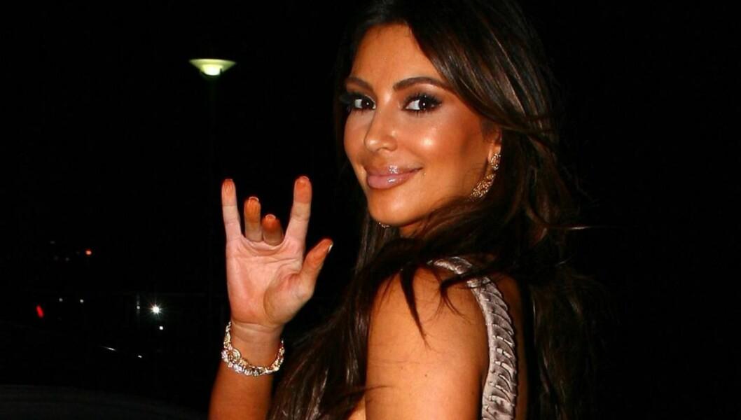 NY FLAMME: Kim Kardashian kobles nå til en ny mann, men nekter å kommentere romanseryktene. Foto: All Over Press