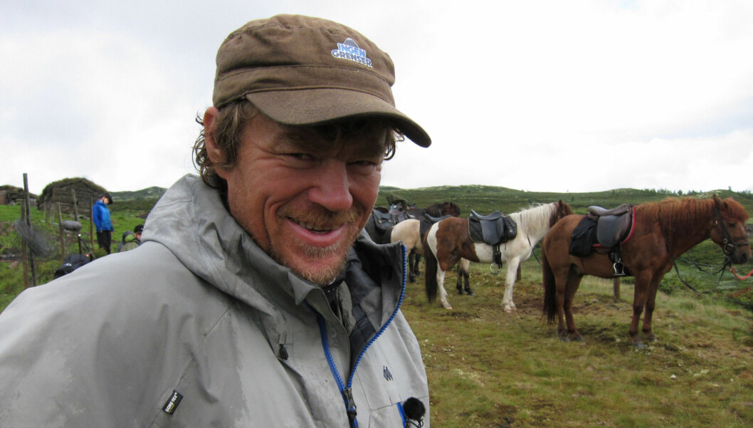 VILLMARKSKONGEN: Monsen har en lang liste ekspedisjoner bak seg, blant annet krysset han Canada på tvers, noe det ble dokumentarserie av. Foto: NRK