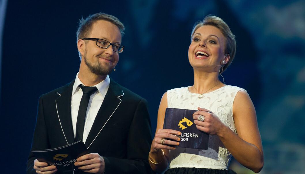 BRYLLUPSPLANER: I helgen ledet Marthe Sveberg Bjørstad Gullfisken sammen med Sigrud Sollien. Til sommeren gifter hun seg.  Foto: Stella Pictures