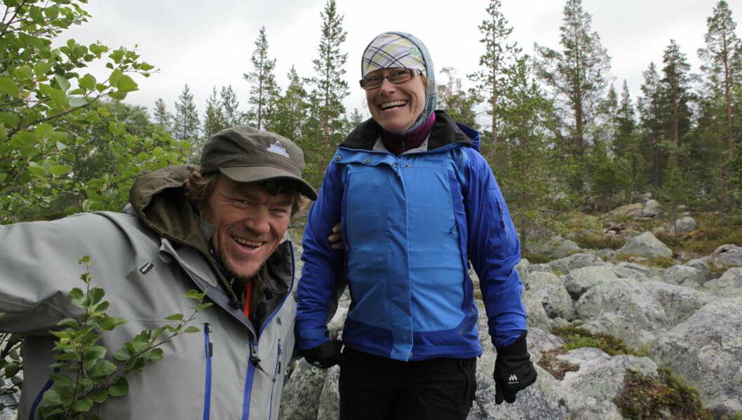 GOD STØTTE: Cerebral parese har gjort at Kari Sangro Olestad til tider har vært ensom, men etter deltagelsen i «Ingen Grenser» synes hun det er lettere å få kontakt med andre mennesker.  Foto: NRK
