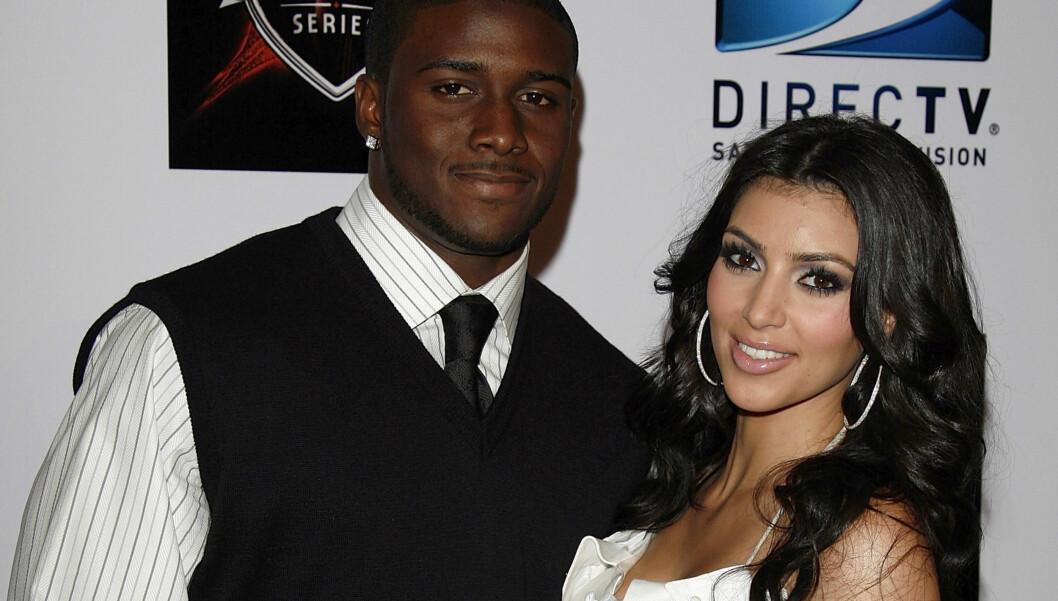 TILBAKE TIL EKSEN?: Det spekuleres nå i om Kardashian kommer til å bli sammen med ekskjæresten Reggie Bush igjen. Foto: All Over Press