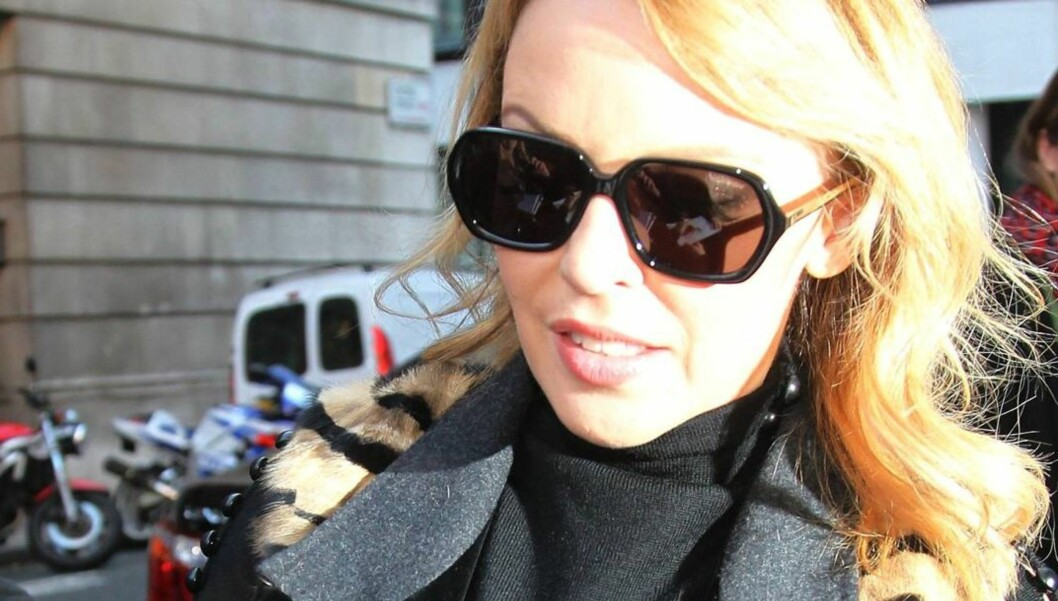<strong>UBEHAGELIGE TRUSLER:</strong> Kylie Minogue avslørte mandag på Twitter at hun har kontaktet politet etter å ha fått grove trusler fra en fans via sin nettside. Foto: All Over Press