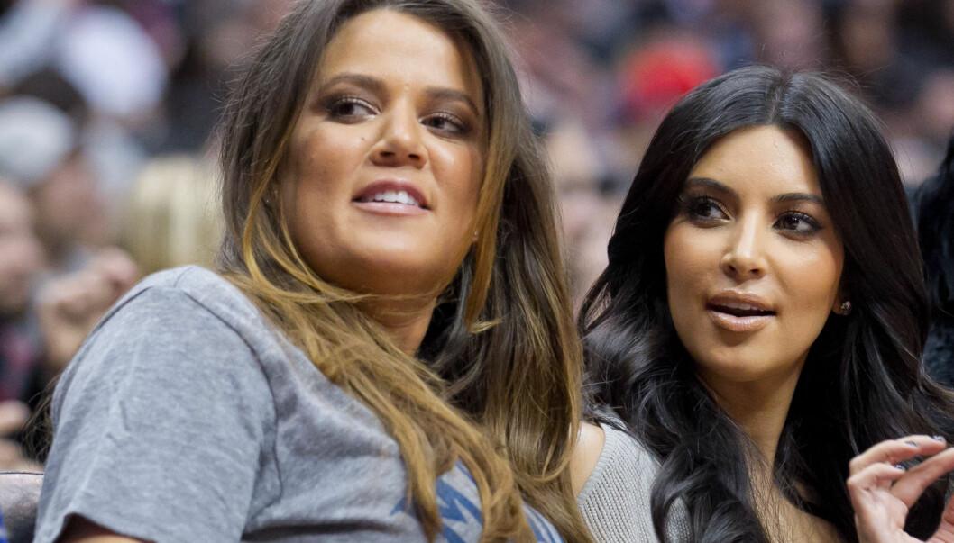 HJELPER SØSTEREN?: Kim Kardashian sier til bladet Allure at søsteren Khloe har spurt henne om hun vil stille opp som surrogatmor. Foto: All Over Press