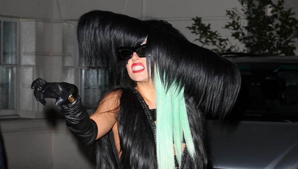 SEKS MÅNEDER: Kinney og Lady Gaga har vært sammen i et halvt år. Foto: All Over Press