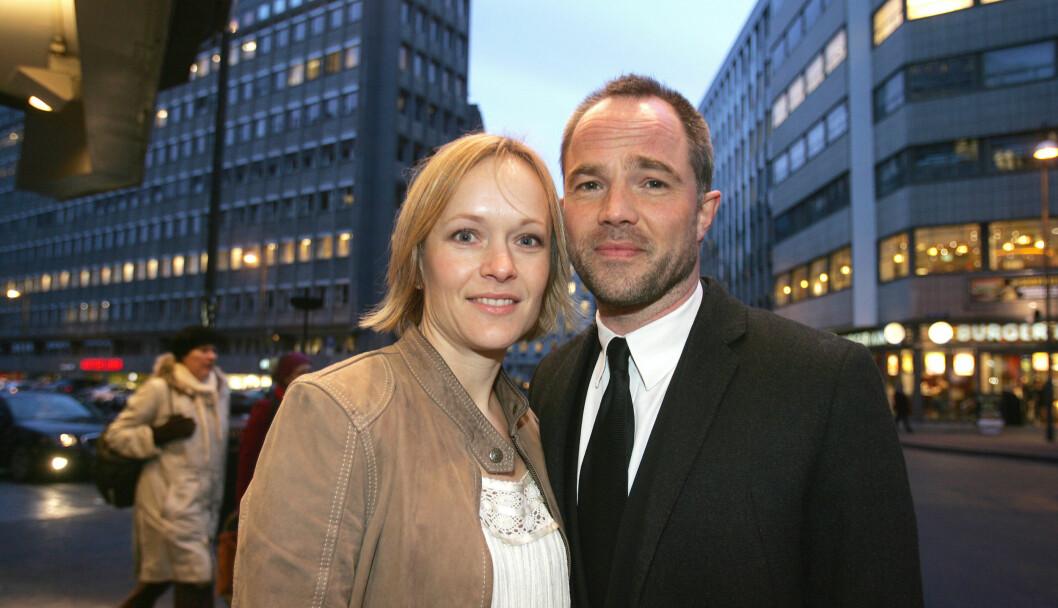 <strong>GIFT OG TRE BARN:</strong> Caroline Giertsen Øigarden og Jon Øygarden. Foto: FAME FLYNET