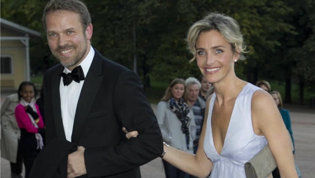 HOT PAR: Christian Skolmen er kjæreste med modell Isabel Ødegård, som for tiden er aktuell i Melodi Grand Prix. Foto: Stella Pictures