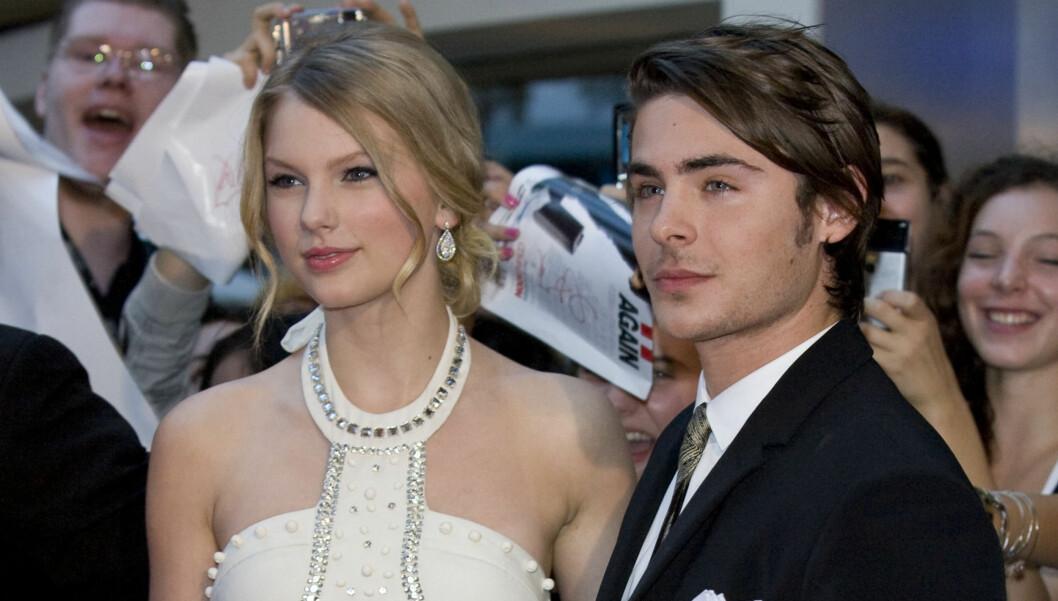 PÅ DATE: Swift og Efron skal ha blitt observert sammen på date. Foto: All Over Press