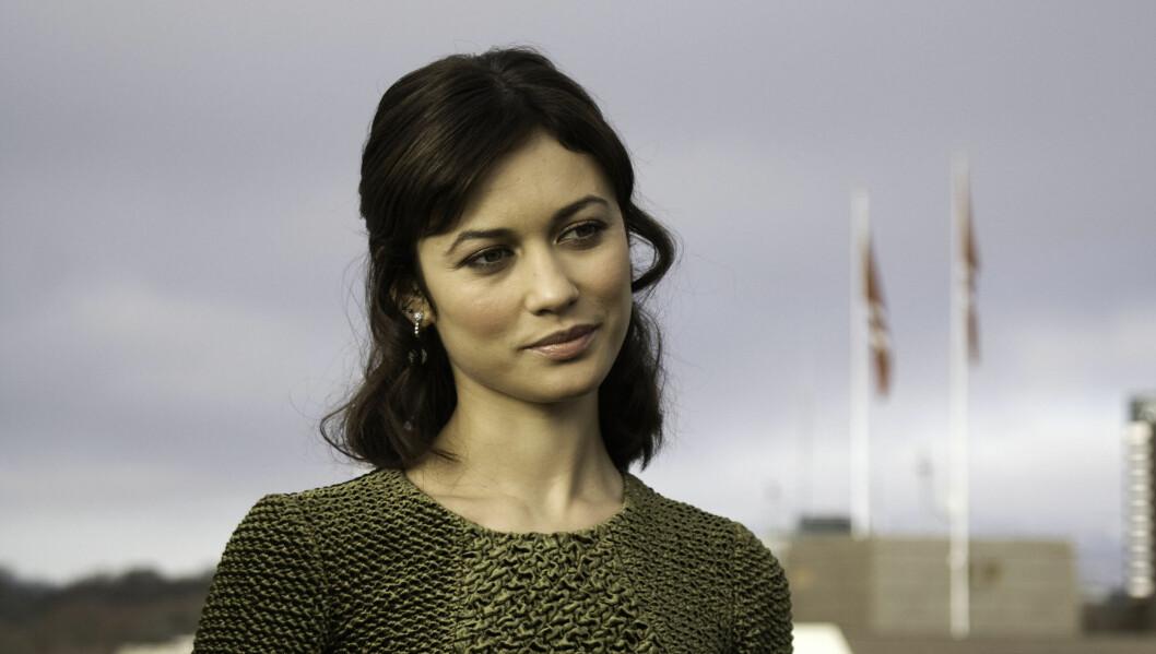 NEI TIL SEX: Olga Kurylenko har blitt plukket ut til den andre hovedrollen. Hun spilte Bond-piken i Quantum Of Solace, men gjorde det klart at hun var uinteressert i å ha sex med James Bond i filmen. Foto: Tine Vatn / Seher.no