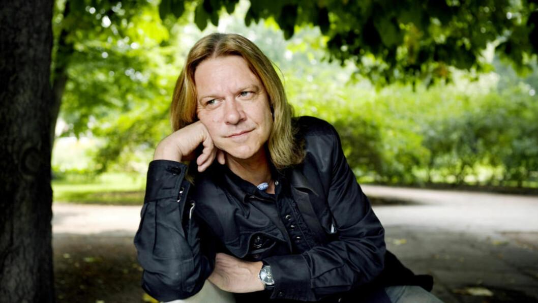 <strong>IMPONERT:</strong>  Hellbillies-vokalist Aslag Haugen synes det er utrolig at fansen kan hele teksten til låtene. Til og med på det nye materialet. Foto: Elisabeth Sperre Alnes/ Dagbladet