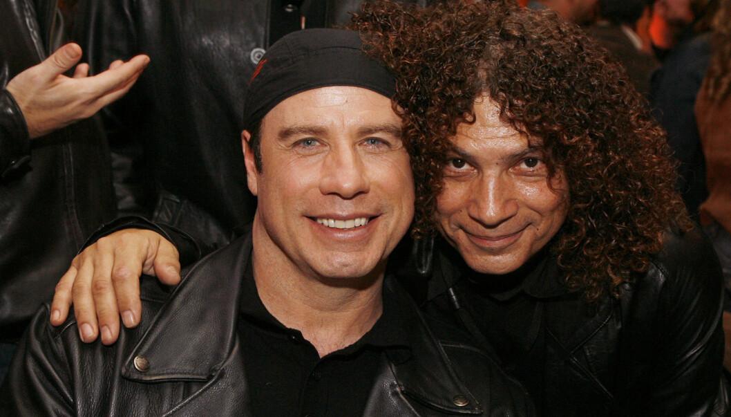 TV-KOLLEGER: John Travolta og Robert Hegyes spilte mot hverandre i TV-serien. Foto: All Over Press
