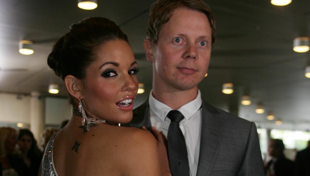 EKSER: Triana og ekskjæresten Nils Noa jobber sammen under årets Paradise-innspilling. Hun som programleder, han som deltakeransvalig og lydekspert. Foto: Stella Pictures