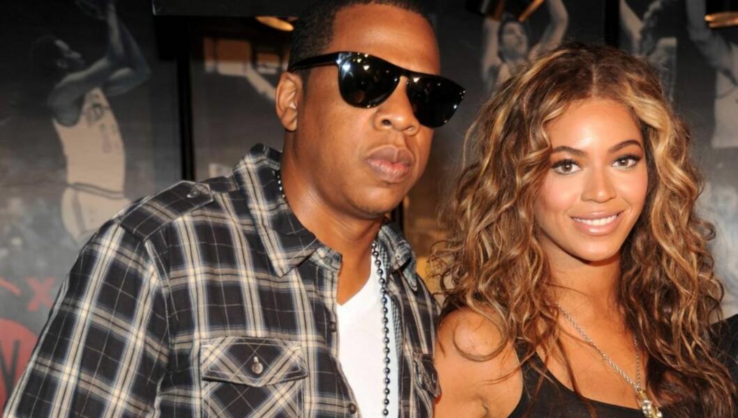 BLE FORELDRE: Det skapte store overskrifter verden over da Jay-Z og Beyonce ble foreldre for første gang, og de første bildene av babyen kan være verdt millioner.  Foto: All Over Press