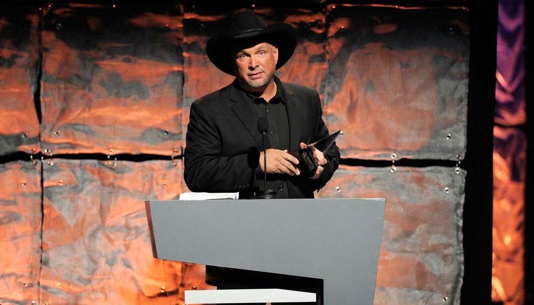 POPULÆR: Brooks topper listen over solgte album i USA, med nesten 70 millioner solgte plater. Foto: All Over Press