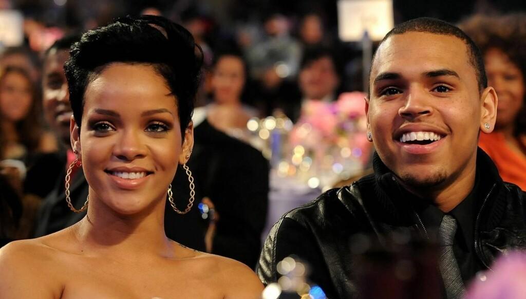 VOLDELIG SLUTT: Rihanna og Chris Brown var et av verdens største superpar, før han banket henne opp i 2009.  Foto: All Over Press