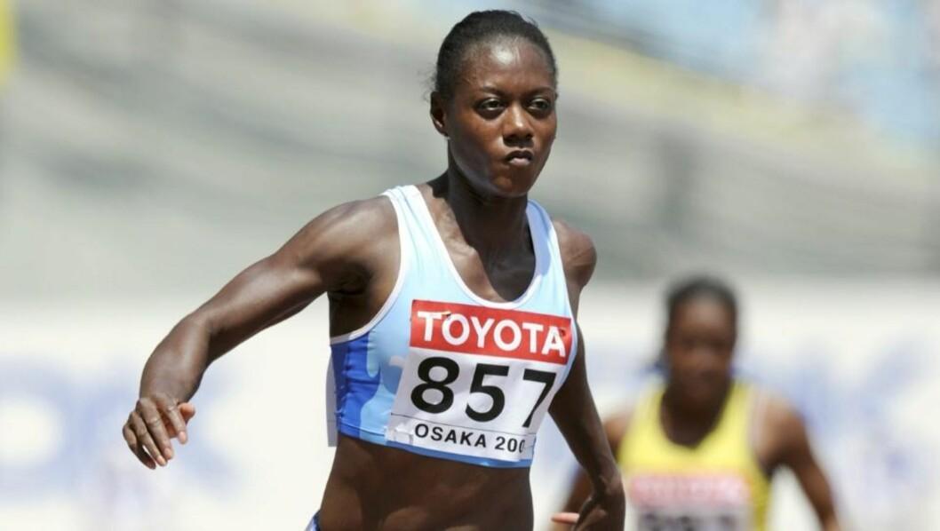 <strong>EM-KLAR:</strong> Her er Merlene Ottey i aksjon på 100 meter i VM i Osaka for tre år siden. Foto: AFP/ERIC FEFERBERG