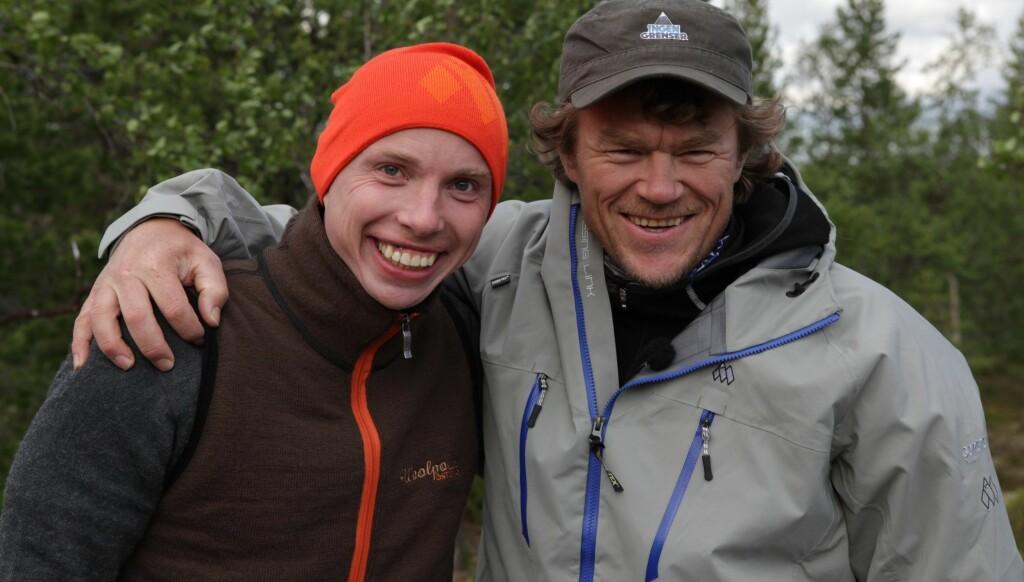 UTE BEST: Kenneth Birkenes ville ikke tilbake til sin egen seng etter at «Ingen grenser»-ekspedisjonen var over. Foto: NRK