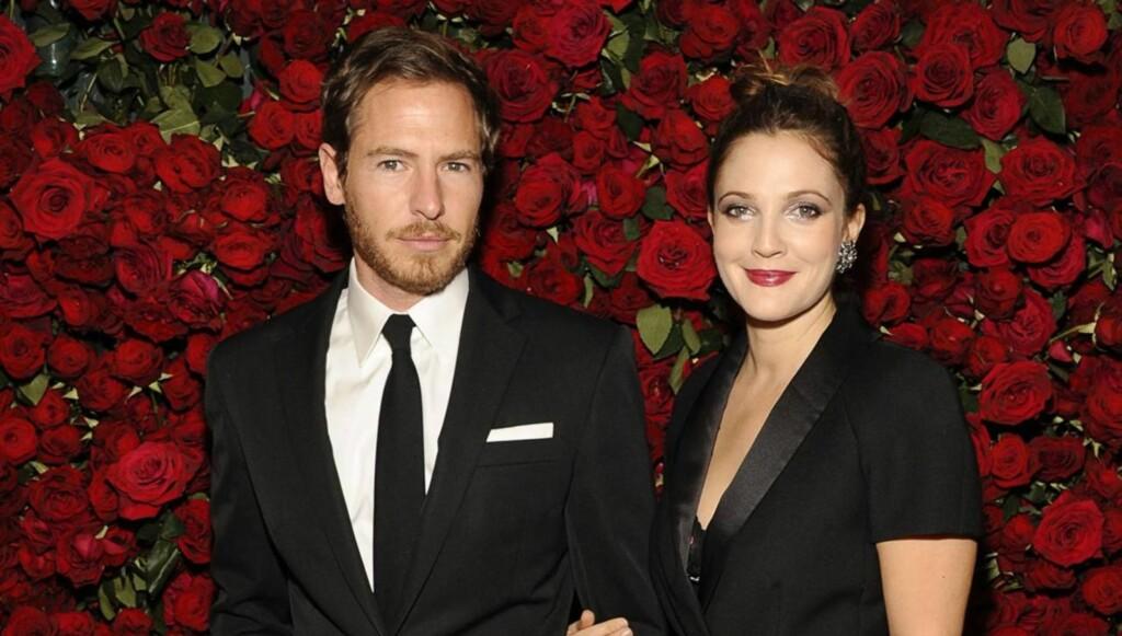LYKKELIG: Drew Barrymore er svært lykkelig sammen med forloveden Will Kopelman. Foto: All Over Press