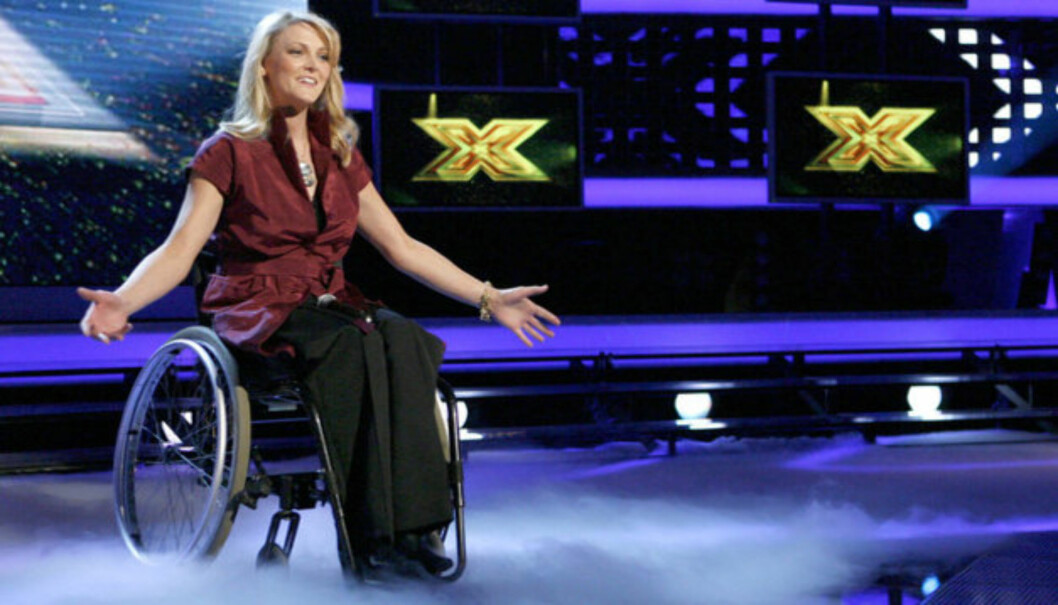 DELTAKER: Kerry McGregor ble for alvor kjent da hun i 2006 var med i britiske X-Factor.