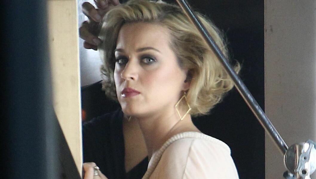 LEI AV SLADDER: Katy Perry har sett seg lei på alle ryktene etter bruddet fra Russell Brand, og fastslår at ingen andre kan snakke på hennes vegne.  Foto: All Over Press