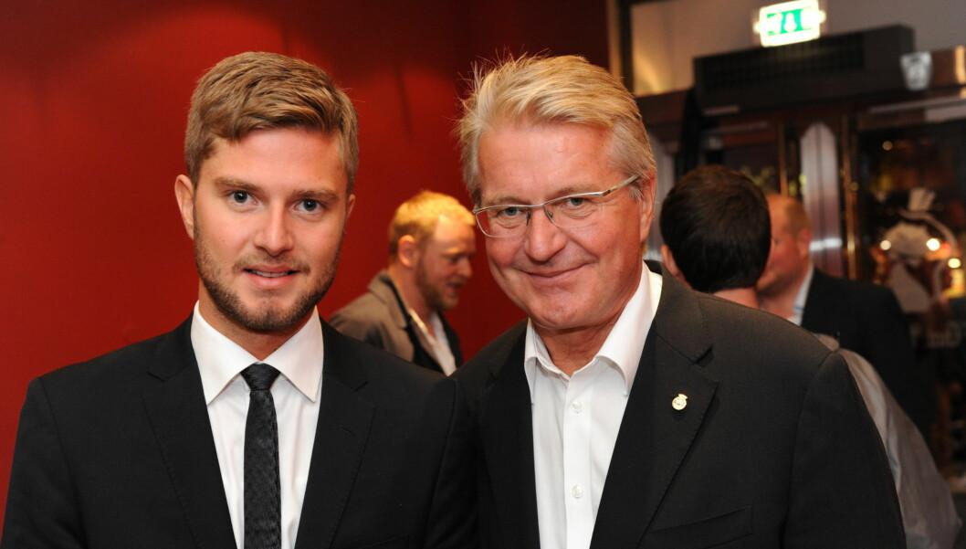 STOLT PAPPA: Ordføreren er far til homofile Christian August, og syntes det er synd at mange fortsatt blir dømt ut fra legning i Norge. Foto: Stella Pictures